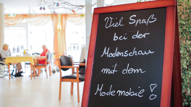 Modenschau mit ModeMobil